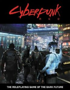 Cyberpunk Red RPG - Core Rules - Tabletop Roleplaying Game - Hardback - New
