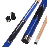 "Collapsar BLK Billiard/Pool Cue Stick 11.5mm/13mm Tip 58"" 2-Piece 19-20 OZ"