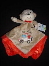 "NWT Carter's ""Adorable"" Monkey Safari Adventure Security Blanket/Lovey"