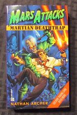 1996 MARS ATTACKS Martian Deathtrap by Nathan Archer 1st Del Ray Paperback VF+