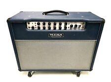 Mesa Boogie Lonestar 1x12 Blue 100 Watt Tube Combo Amp w/ Footswitch + Cover + C
