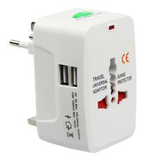 Universal Travel Adapter Worldwide Power Plug Wall AC Adaptor Charger with USB