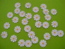 30 Margeriten, Blüten Blumen Scrapbooking Streuteile zum Scrappen Gänseblümchen