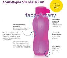 Tupperware: NOVITÀ ECO BOTTIGLIA 310ml nuovo colore rosa NUOVA OFFERTA entra!