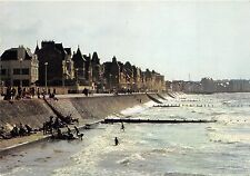 BR21297 Saint Malo parame La digue promenade face a la mer   france
