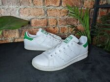 New listing Adidas Originals Women's Stan Smith Trainers White Green Classic UK Size 4.5