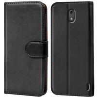 Book Case für Nokia 2 Hülle Tasche Flip Cover Handy Schutz Hülle Handyhülle