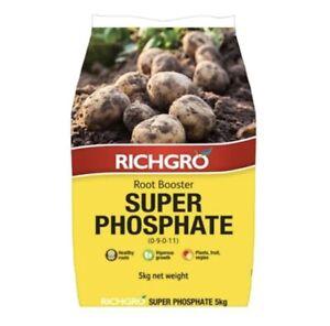 Richgro 5kg Super Phosphate Fertiliser Supplement