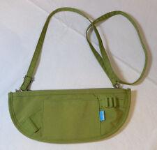 Caddie Sak Golf Travel Crossbody tees women's bag purse travel green Pre owned