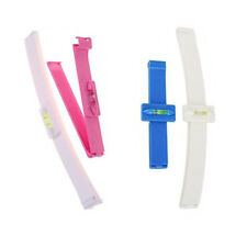 DIY 2X Professional Bangs Cutting Clip Hairstyle Trim Ruler Tool Hair Removal UK