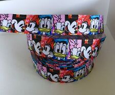 Yard Disney Mickey Minnie Mouse Pato Donald Daisy cinta del grosgrain carácter #50