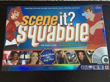 Scene It? Squabble DVD Board Game Men Against Women Girl Flicks vs Guy Pics NEW