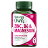 Nature's Own Zinc, B6 & Magnesium 200 Tablets Relieves Symptoms of PMS Natures