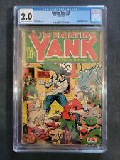 The Fighting Yank #10 CGC 2.0 1944 Alex Schomburg Bondage Torture Cover