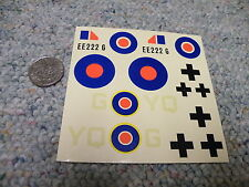 AMT  decals 1/48 Gloster Meteor Mk 1 and V-1 Buzz Bomb ZZZZ