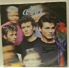 "7"" VINYL SINGLE. You Are The One b/w Out of Blue Comes Green by A-Ha 1988 W7636."