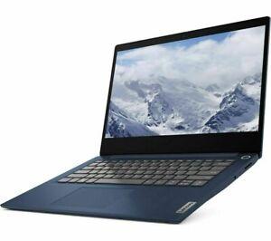 """Lenovo IdeaPad 3i 14"""" FHD Pentium Gold 6405u 128GB SSD 4GB RAM Blue Laptop Win10"""