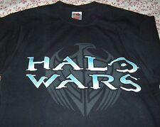 Halo Wars T-Shirt Video Game Mens Womens Size Medium Black
