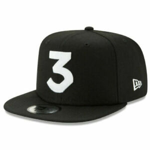 Chance The Rapper 3 Black & White Logo High Crown 9Fifty Snapback Cap - New Era