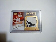 2011 Upper Deck Exquisite Collection #142 Ryan Mallett 72/135 Autographed Card