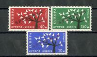Cypress Stamps # 219-21 XF OG NH Rare Europa Set Specimen
