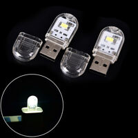 Mini Portable LED Bright USB Night Light Lamp Gadgets for PC Laptop Reading HGUK