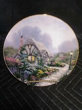 "Thomas Kinkade ""Chandler's Cottage"" collector plate by Knowles,"