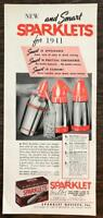 ORIGINAL 1940 Sparklets Club Soda Maker Print Ad New For 1941