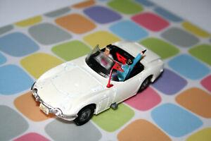 Corgi Toys JAMES BOND TOYOTA 2000 GT mit Aki u. James leichte Lackausbesserungen