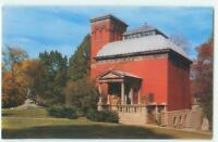 Crawfordsville Indiana Lew Wallace Study & Monument 50s Antique Postcard  25982
