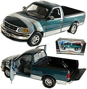 Ford F-150 Xlt Pick-Up 1996-2004 Green Metallic 1:18 Ertl 07224