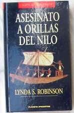 ASESINATO A ORILLAS DEL NILO - LYNDA S. ROBINSON - EL EGIPTO DE LOS FARAONES VER
