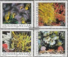 Jugoslawien 2121-2124 (kompl.Ausg.) postfrisch 1985 Algen