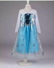 Girls Frozen Elsa  Costume Party Birthday Dress size 7/8 year