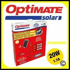OptiMate Solar Battery Charger 20w 12v Smart Motorcycle Automatic Maintainer Car