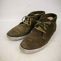 Men Fire Fly Firefly Influence Gray Suede Leather Upper Shoes Size 10