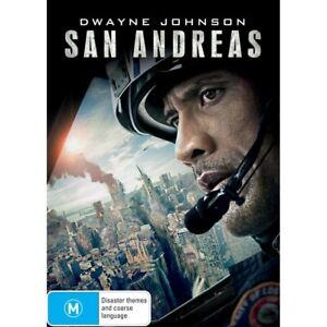 San Andreas (DVD, 2015) NEW & SEALED