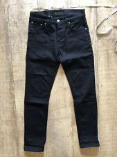 Nudie Jeans Grim Tim W31 L30 Organic Dry Black