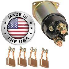 42MT Starter Repair USA, Solenoid & Brushes 1993795, 1993938, 1993943, 1993961