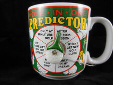 Hole In One Predictor Coffee Tea Mug Papel Freelance Excellent