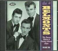 THE BELMONTS - Laurie, Sabrina & United Artists Sides - Vol Two ( Ace CD 1998)