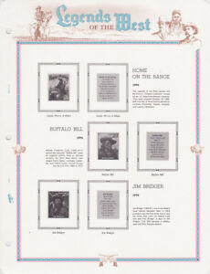 WHITE ACE - LEGENDS OF THE WEST PAGES - 1994       #WA-LOWP
