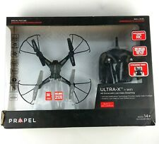 Propel Ultra-X WiFi HD Drone w/ Live Video Streaming -Unused Damaged Box-