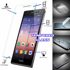 Genuine TEMPERED GLASS Film Invisible Screen Protector For Huawei Ascend P7