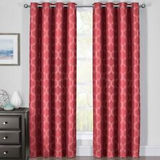 Alana 100% Blackout Curtains Triple Pass Thermal Insulated (Set of 2 Panels)