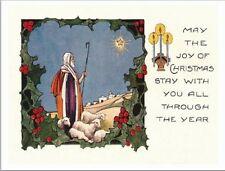 """*Postcard-""""May The Joy of Christmas Stay With You All Through..."""" (B-404)"""