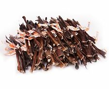"""GoGo USA Made Low Odor Bully PizzleSTEER STICKS 12"""" Natural Dog Chews - 100 Pack"""