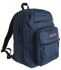 JANSPORT BIG Student Backpack Bags Sports Navy Casual School GYM Bag JS00TDN7003