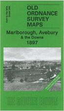 Old Ordnance Map Marlborough, Avebury & The Downs 1897 - England Sheet 266