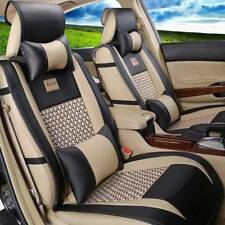 US Auto Car PU Leather Seat Covers M Size Front+Rear For Mazda 2/3 2003-2013 Kit